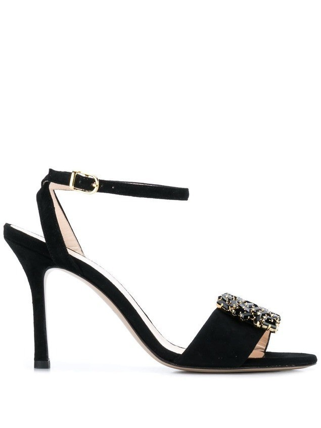 Marc Ellis slingback sandals - Black