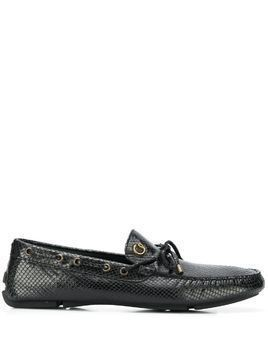 Just Cavalli driving loafers - Black