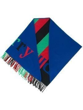 Burberry colour block knitted scarf - Multicolour