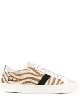 D.A.T.E. striped low-top sneakers - Neutrals