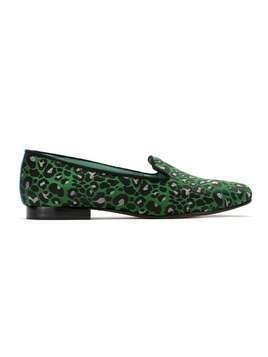 Blue Bird Shoes Onça Colors loafers - Green