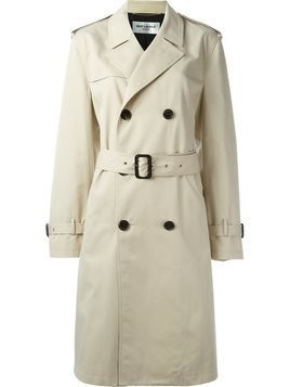 Saint Laurent classic trench coat - Nude & Neutrals