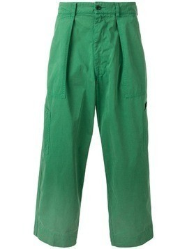 East Harbour Surplus wide-leg cargo trousers - Green