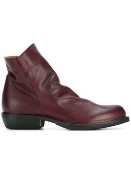 Fiorentini + Baker zipped ankle boots - Red