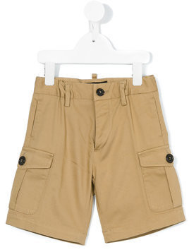 Dsquared2 Kids cargo shorts - Nude & Neutrals