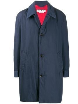 Marni oversized raincoat - Blue