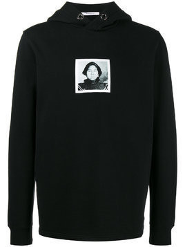 Givenchy Native American Printed Hoodie - Black