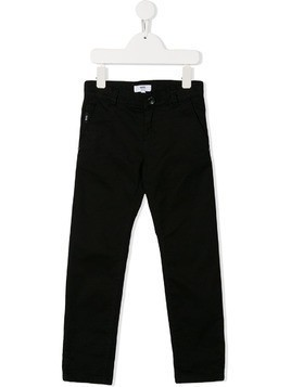 Boss Kids straight leg chinos - Black