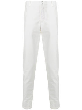 Incotex - straight trousers - Herren - Cotton - 48 - White