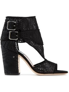 Laurence Dacade buckled lace sandals - Black