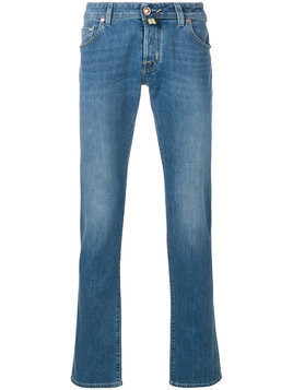 Jacob Cohen - slim fit jeans - Herren - Cotton/Polyester/Spandex/Elastane - 33 - Blue