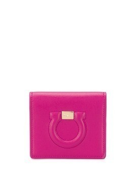 Salvatore Ferragamo Gancini card holder - Pink