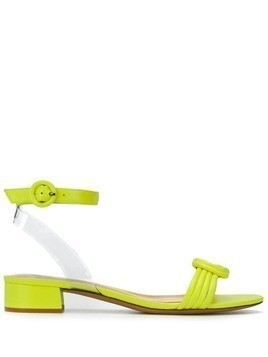 Alexandre Birman twisted front sandals - Yellow