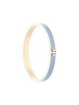 Tory Burch Kira enameled slim bracelet - Blue