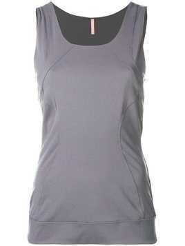 No Ka' Oi stretch tank - Grey
