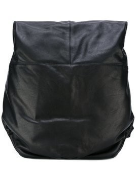Côte&Ciel panelled backpack - Black