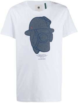 G-Star Raw Research graphic print T-shirt - White