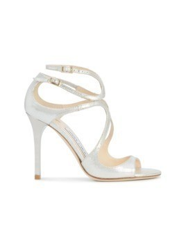 Jimmy Choo Lang sandals - Metallic