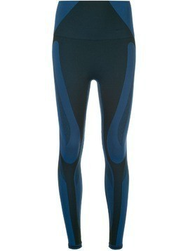 LNDR colour block leggings - Blue