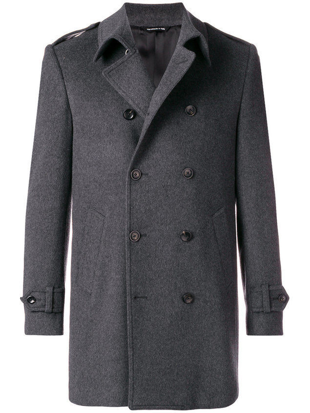 Tonello cashmere military coat - Grey