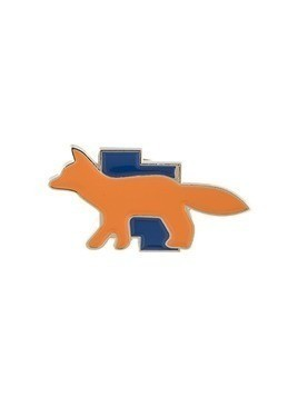 Ader Error Maison Kitsuné x Ader error tetris fox brooch - Orange