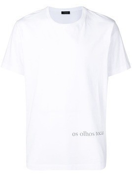 Inês Torcato 'Os Olhos Tocam' T-shirt - White
