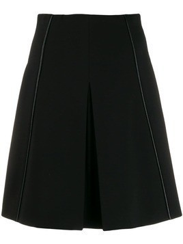 Dorothee Schumacher A-line mini skirt - Black