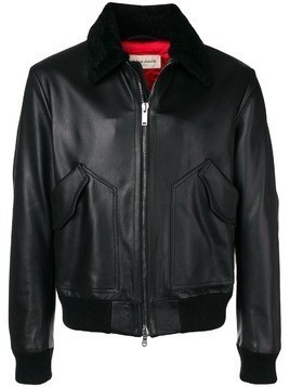 Al Duca D'Aosta 1902 leather jacket - Black