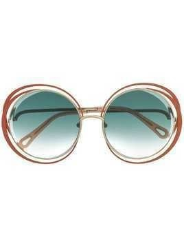Chloé Eyewear Carlina sunglasses - Neutrals