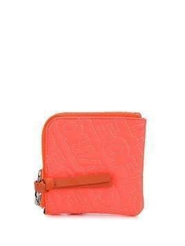 HOUSE OF HOLLAND embroidered logo wallet - Orange