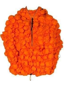 Angel Chen oversized quilted jacket - Orange