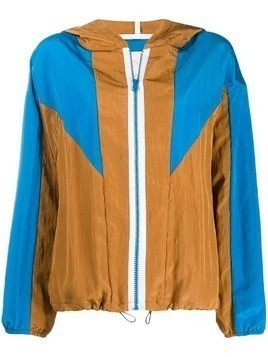 Tela hooded sports jacket - Brown