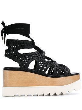Stella McCartney Elyse platform sandals - Black