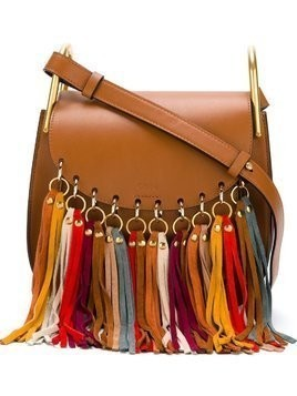 Chloé 'Hudson' fringed shoulder bag - Brown