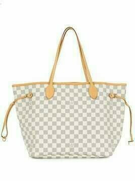 Louis Vuitton 2010 pre-owned Neverfull MM tote bag - White