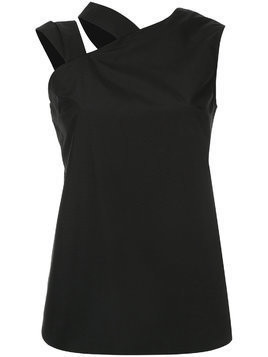 Monographie strap asymmetric top - Black