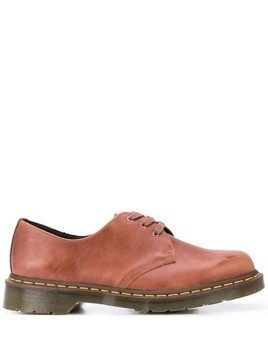 Dr. Martens stitch detail brogues - Brown