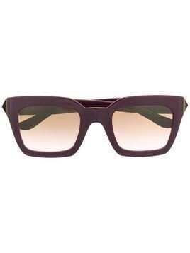 Jimmy Choo Eyewear cat-eye tinted sunglasses - PURPLE