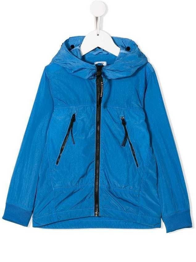 Cp Company Kids windbreaker jacket - Blue