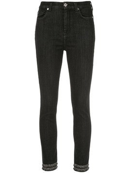 7 For All Mankind high-waisted jeans - Black