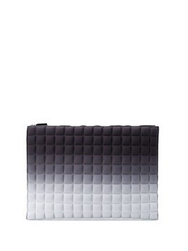 No Ka' Oi large quilted clutch bag - Grey