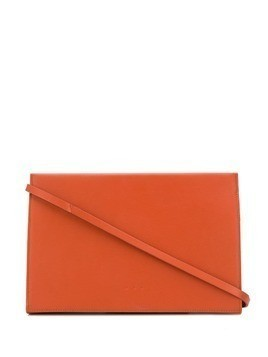 Aesther Ekme snap shoulder bag - Orange