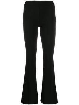 Blanca flared trousers - Black