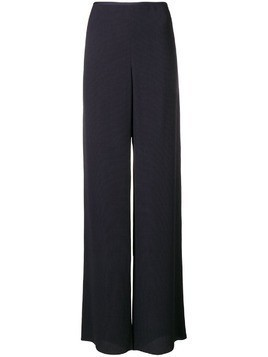 Giorgio Armani high waisted trousers - Blue