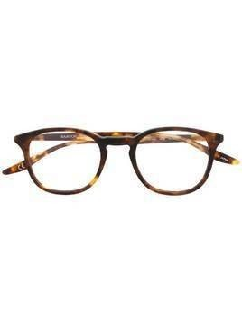 Barton Perreira round frame optical glasses - Brown