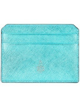 Mark Cross logo cardholder - Blue