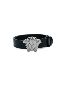 Young Versace Medusa buckle belt - Black