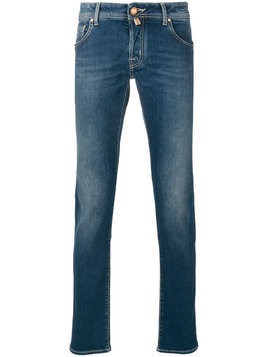 Jacob Cohen - straight leg jeans - Herren - Cotton/Spandex/Elastane - 32 - Blue