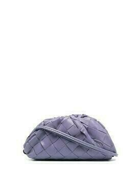 Bottega Veneta The Pouch coin purse - PURPLE