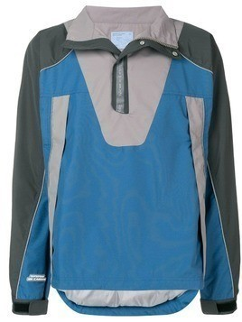 C2h4 high neck pullover jacket - Blue